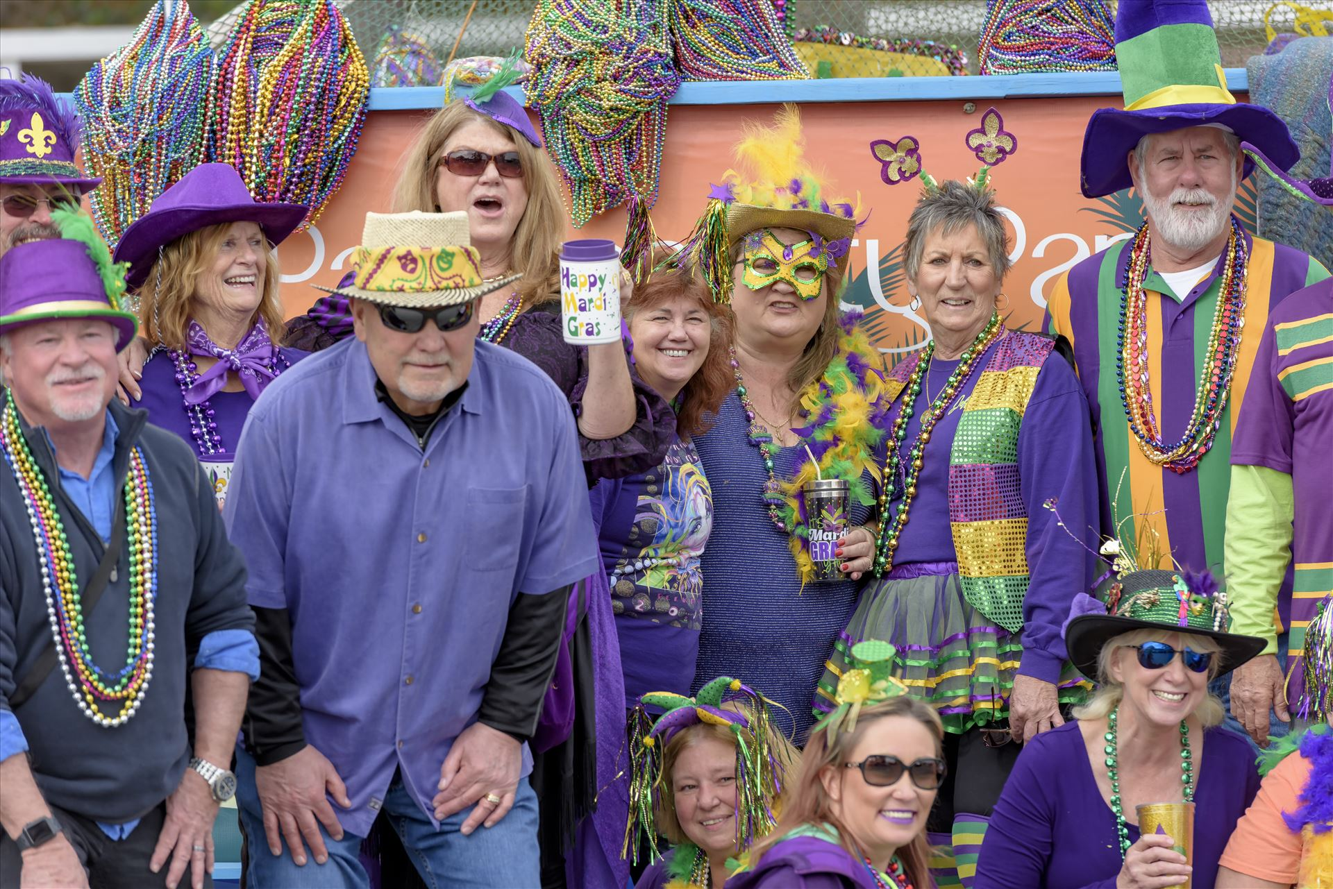 St. Andrews Mardi Gras Parade - Saturday Feb 3, 2018 The St. Andrews Mardi Gras, the official Mardi Gras parade and festival of Panama City, Florida.