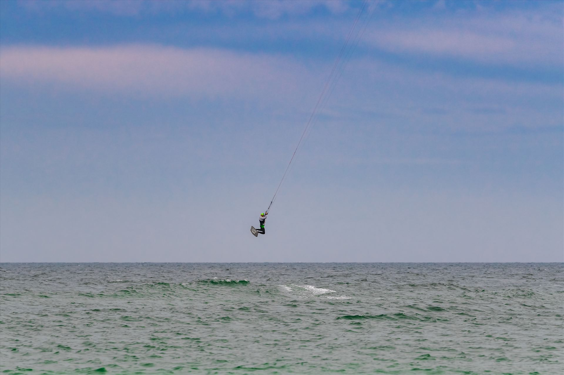 Emerald Coast Kiteboarding - Kiteboarding at St. Andrews State Park, Panama City, Florida by Terry Kelly Photography