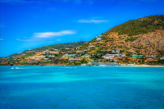 The city of St. Maarten on St. Martin